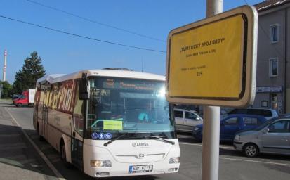 Turistický autobus do Brd