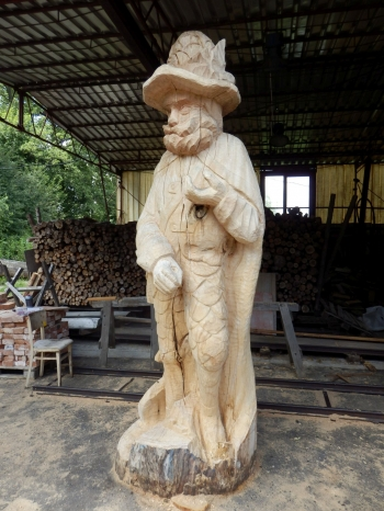 Za Fabiánem do Brd: V Orlově bude odhalena socha brdského rytíře