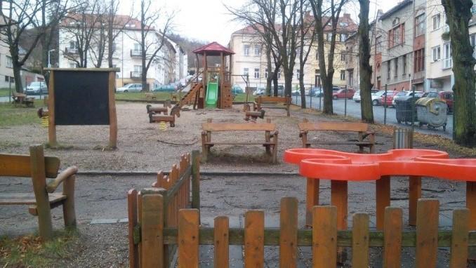 hřiště Komenského náměstí