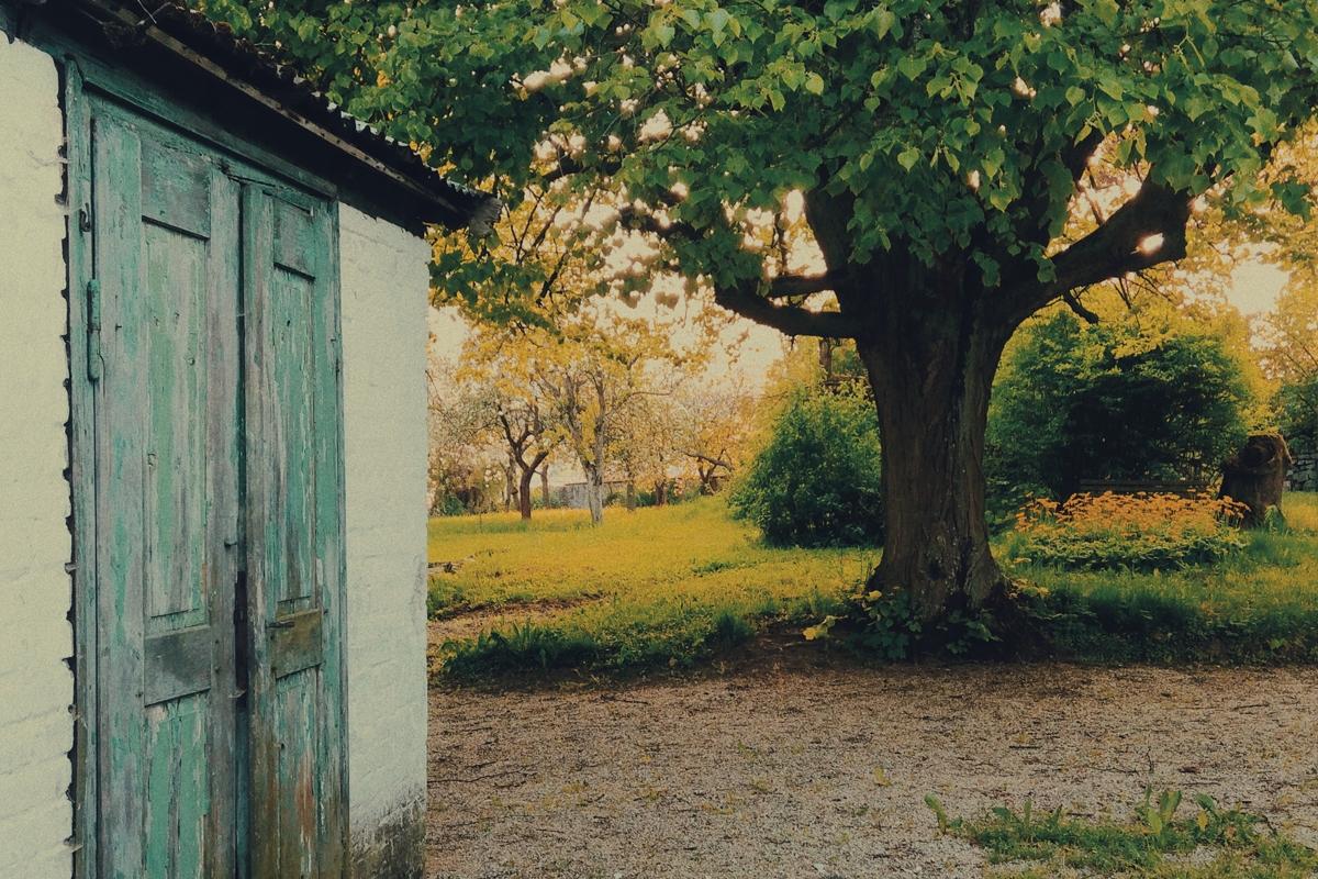 Zahrada vily Rusalka, kde Dvořák s nadšením sadařil a choval holuby, foto: Karolina Ketmanová